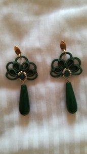 Orecchini verdi Elegance