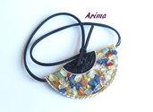 Collana cialde con frammenti di roccia  art25