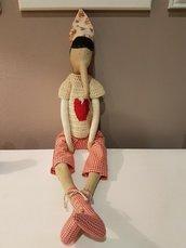 Pinocchio di tessuto
