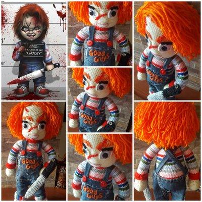 Amigurumi Chucky bambola assassina