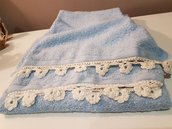 Coppia asciugamani di spugna