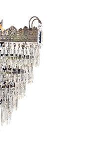 Ciondoli di cristalli, pezzi di ricambio per lampadari, in vetro