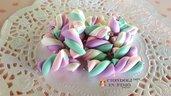 Marshmallow ciondolo fimo bijoux bigiotteria materiale creativo bomboniere accessori