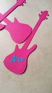 Invito compleanno chitarra