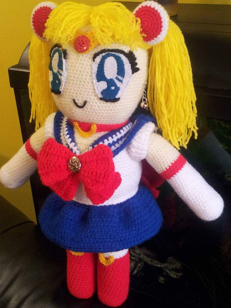 Amigurumi Sailor Moon