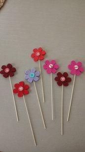 Decorazione a forma di fiore per vasi di fiori