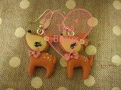 Orecchini dolci Cerbiatti