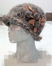 cappello closche fatto a mano,  Handmade cloche hat