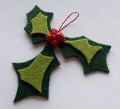 Decorazione per albero di Natale fatta a mano