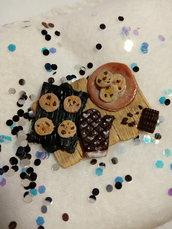 Miniatura Biscotti in fimo