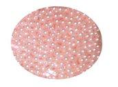 5*100 Perle perline acrilico ROSA 6mm con foro Matrimonio Accessori sposa Nozze