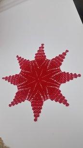 Centrino uncinetto a forma di stella