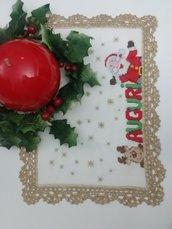 Centro natalizio punto croce