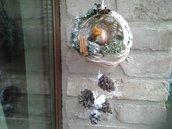 Nido d'inverno,  decorazione per la casa, fuoriporta