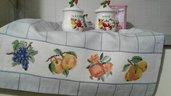 asciugapiatti con frutta