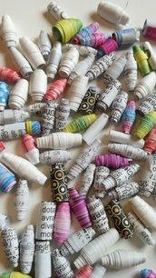 Perline in carta riciclata