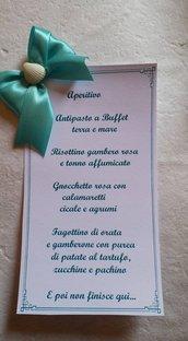 Tableau Matrimonio Tema Diamanti : Creazioni handmade di azzurre meraviglie in matrimonio feste
