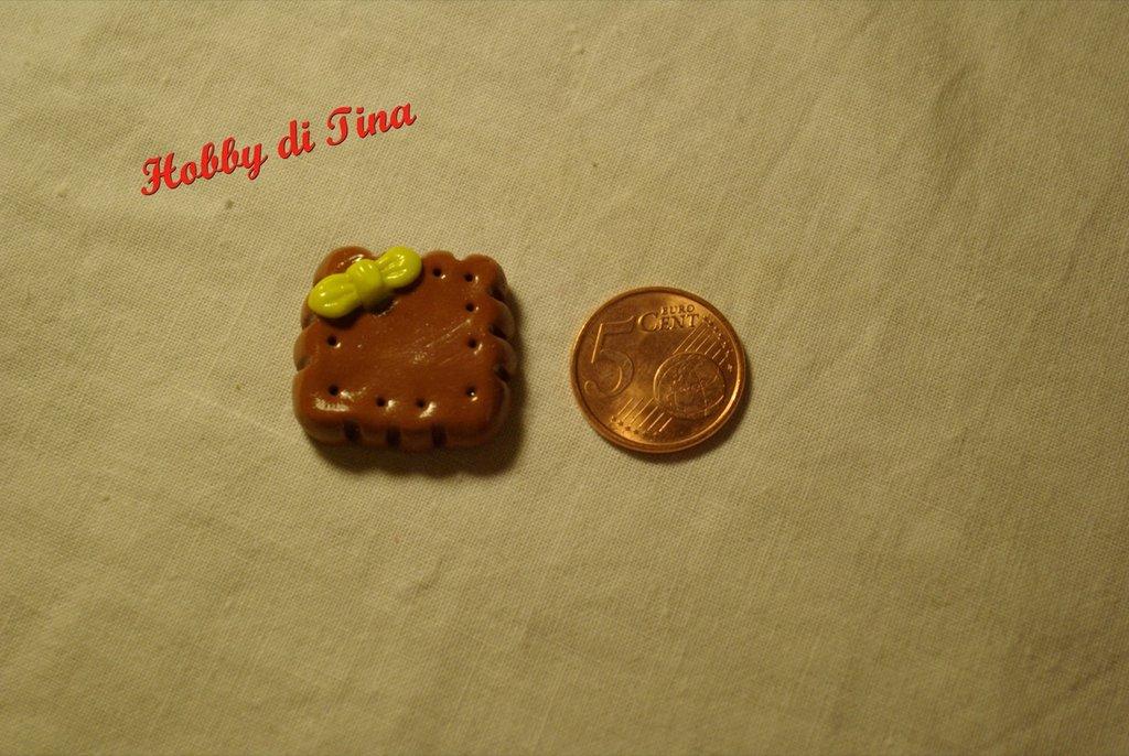 Calamita biscotto in fimo