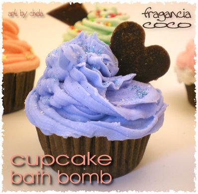 Bombas de baño CUPCAKE