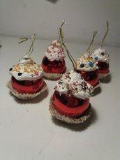 palle di Natale cupcake