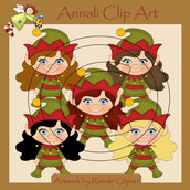 Follette Natale - Clip Art per Scrapbooking e Decoupage - Immagini