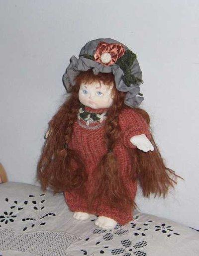 Soft doll artigianale