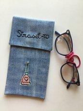 Portaocchiali 👓 in jeans