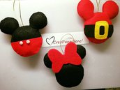 Decorazioni natalizie, addobbi Mickey Mouse