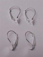2 Monachelle in rame per orecchini, componenti per bigiotteria,, orecchini