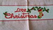 asciugapiatti natale love christmas