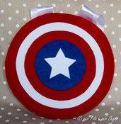 Porta pigiama scudo di Capitan America