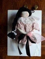 Dama romantica rosa