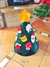 Albero di Natale Montessori - alberello montessoriano forma cono