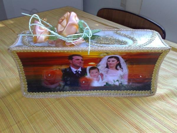 bomboniere  regalo matrimonio su marmo