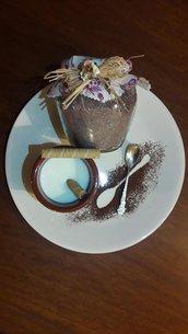 Zucchero aromatizzato al cacao e cocco