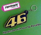 Portachiavi Valentino Rossi 46