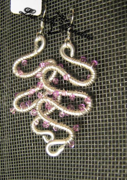 orecchini serpetina wire