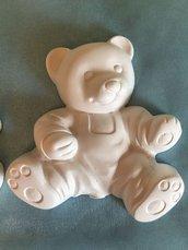 Orsetto in polvere di ceramica