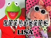 PERSONALIZED PHOTO Piggy and Kermit