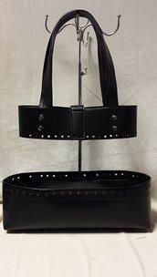 Vaschetta/ fascia GO 14 nera