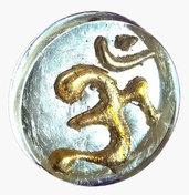 Anello in resina simbolo OM