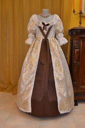 Abito d'Epoca Costume Storico Barocco 1600
