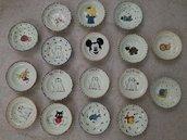Piatto ceramica bambini