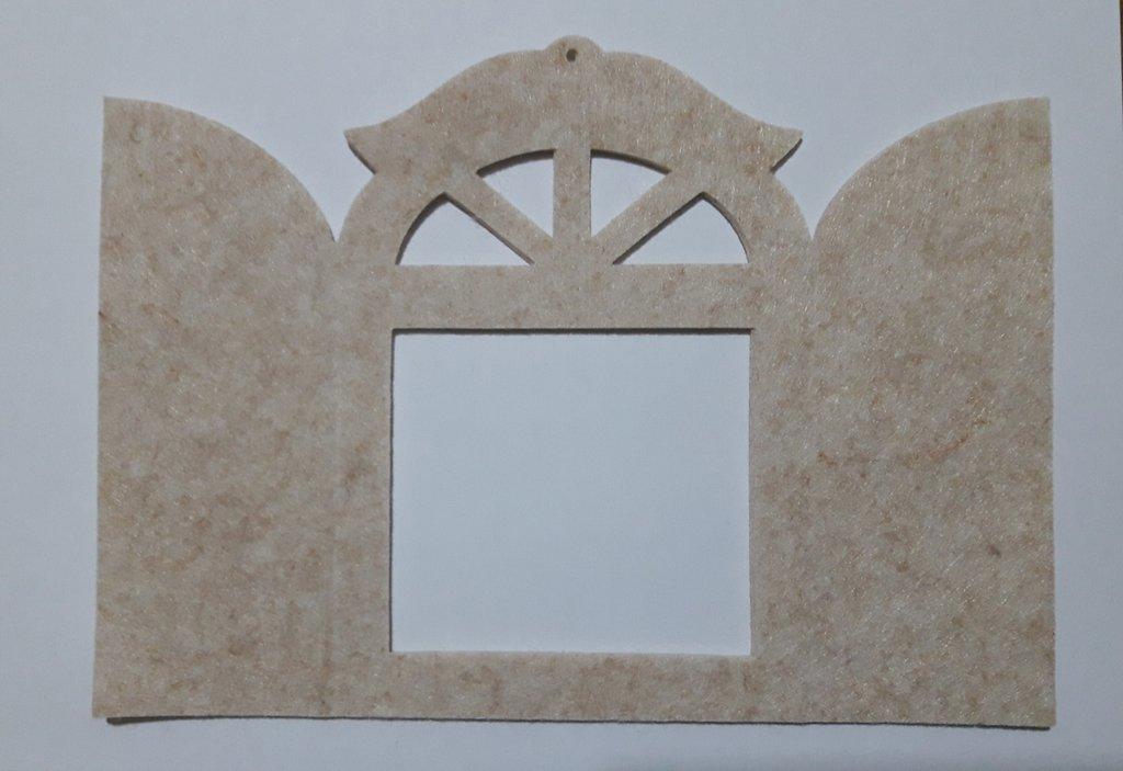 fustellato finestra feltro