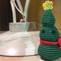 Addobbi natalizi ad uncinetto - Albero di Natale!!