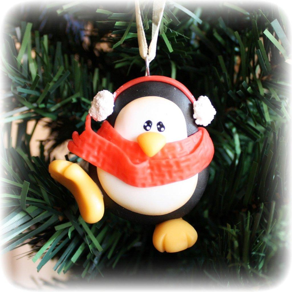 Pinguino freddoloso in pasta di mais