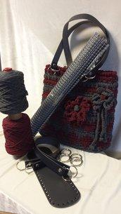Kit Carlotta + cordino lanato