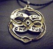 Ciondolo Aurin bronzo con scritta