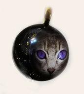 Ciondoli in resina con immagini Gatti