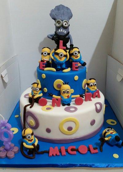 cake topper Minions